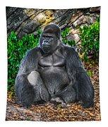 African Beast Leader Tapestry by Gary Keesler