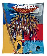 African Beauty 2 Tapestry
