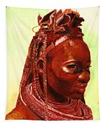 African Beauty Tapestry