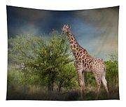 African Giraffe Tapestry