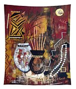 African Perspective Tapestry
