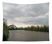After A Rainy Day In Danube Delta Tapestry