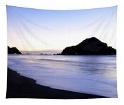 After Glow At Elk Beach 1 Tapestry