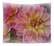 After The Rain - Dahlias Tapestry