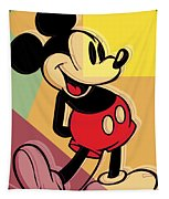 After Warhol Mickey Tapestry by Gary Grayson