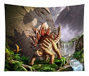 Against The Wall Tapestry