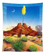 Agave Bloom Tapestry