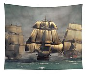 Age Of Sail Tapestry