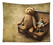 Aged Toys Tapestry