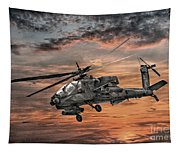 Ah-64 Apache Attack Helicopter Tapestry