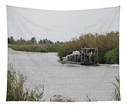 Airboat Rides 25 Cents Tapestry