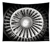 Aircraft Turbofan Engine Tapestry