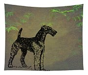 Airedale Terrier Tapestry