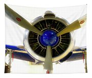 Airplane Propeller And Engine T28 Trojan 01 Tapestry