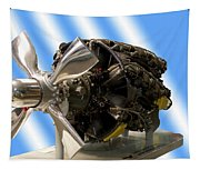 Airplanes Prop And Engine Tapestry