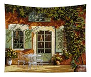 Al Fresco In Cortile Tapestry