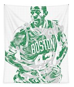 Al Horford Boston Celtics Pixel Art 6 Tapestry