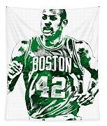 Al Horford Boston Celtics Pixel Art Tapestry