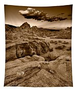 Alabama Hills California B W Tapestry