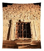 Alamo Night Window Tapestry