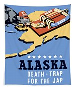 Alaska Death Trap Tapestry