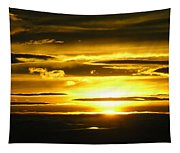 Alaskan Sunset Tapestry