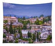 Albayzin View Granada Tapestry