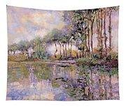 Alberi Sul Fiume Tapestry