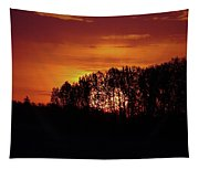 Alberta Sunset Tapestry