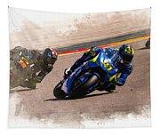 Aleix Espargaro Team Suzuki Ecstar Tapestry