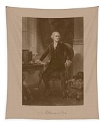 Alexander Hamilton Sitting At His Desk Tapestry