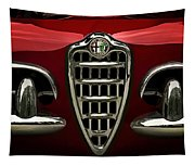 Alfa Red Tapestry