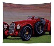 Alfa Romeo 8c 2900a Botticella Spider 1936 Painting Tapestry
