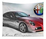 Alfa Romeo 8c Competizione  Tapestry
