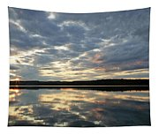 Algonquin Lake Sunset Tapestry