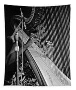 Alice Coltrane On Harp Tapestry