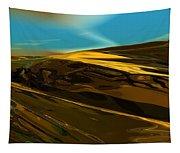 Alien Landscape 2-28-09 Tapestry