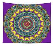 Alien Prayer Circle Tapestry