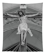 All For You Grayscale Tapestry
