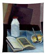 Alla Prima Still Life Study 1977 Tapestry