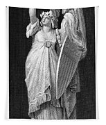 Allegory: Columbia, 1870 Tapestry