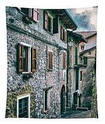 Alley In An Alpine Village #1 Tapestry