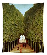 Alleyway In The Park Tapestry by Henri Rousseau