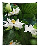 Sacred Lotus Plant Tapestry