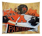 Alma High School Athletics Tapestry