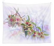 Almond Blossoms Tapestry