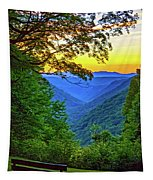 Almost Heaven - West Virginia 3 - Paint Tapestry