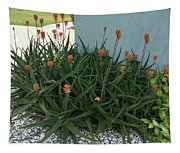 Aloe Blossoms Tapestry