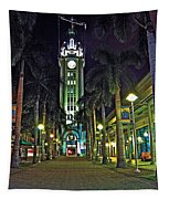 Aloha Towers Tapestry