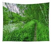 Along Creek #g1 Tapestry